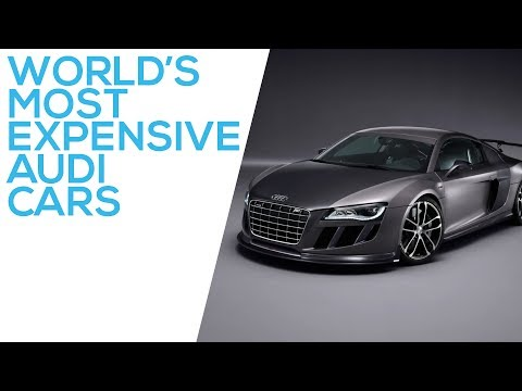 Most Expensive Audi Cars in the World | Top 5