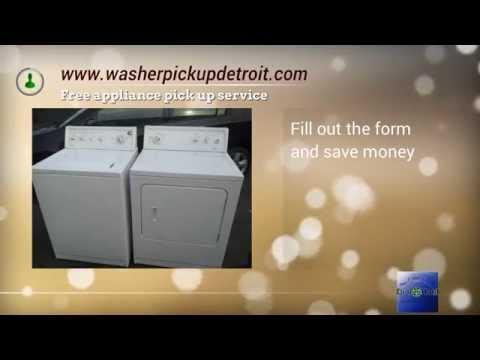 washer pickup Detroit