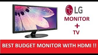 LG 19M38H Unboxing LED Monitor Monitor with TV HDMI How Can I Help U