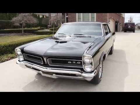 1965 Pontiac GTO Tri-Power Classic Muscle Car for Sale in MI Vanguard Motor Sales