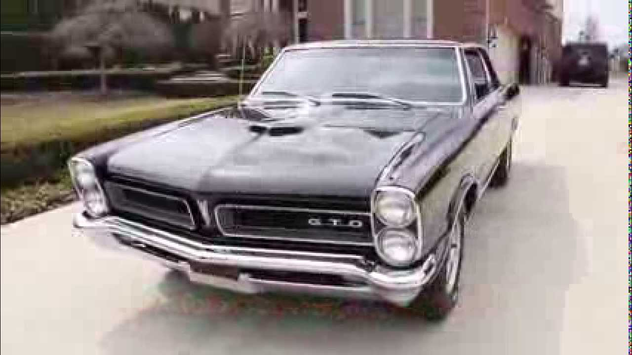 1965 Pontiac GTO Tri Power Classic Muscle Car for Sale in MI     1965 Pontiac GTO Tri Power Classic Muscle Car for Sale in MI Vanguard Motor  Sales   YouTube