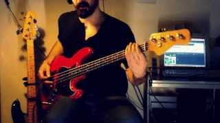 Obstacle 1 - Interpol [bass cover]