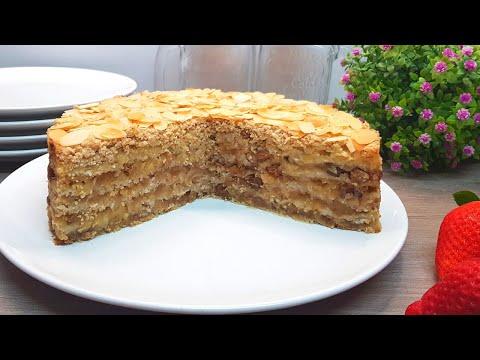 Tarta de manzana SIN HARINA y SIN AZÚCAR   Saludable, Fácil, con Avena #shorts #010