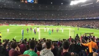 vuclip BARÇA - PSG: goal de Sergi Roberto desde la grada.