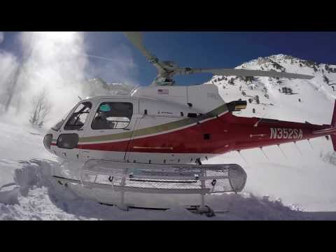 Heliskiing in the Ruby Mountains 2017-03-01