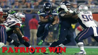 patriots beat seahawks 28 24 super bowl patriots vs seahawks super bowl comeback win wtf