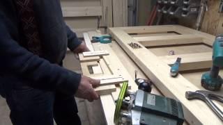 Входная деревянная дверь . ЧАСТЬ 2 . (Entrance wooden door. p2)(, 2015-12-03T04:43:26.000Z)