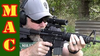 The original Colt AR15 scope is back! Brownells Retro scope!