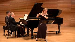 Amy Porter performs Regrets and Resolutions by Gary Schocker