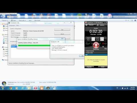 Deutsche Sprache Auf Windows 7 Home Premium Installieren
