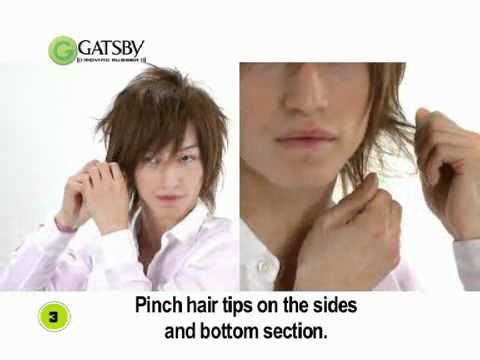Gatsby Moving Rubber Air Rise Hair Wax Tutorial Youtube