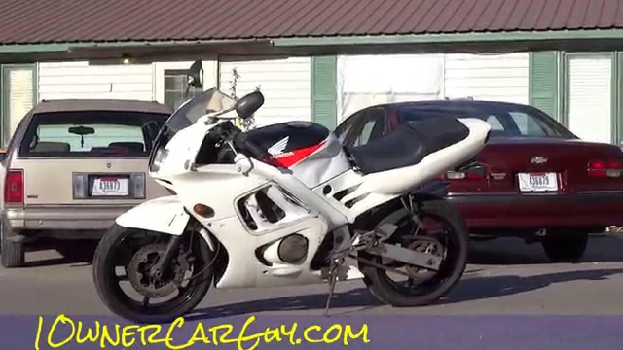 Honda Cbr 600 For Sale >> 91 Honda CBR 600 F2 For Sale Cheap Project Bike CBR600F2 - YouTube
