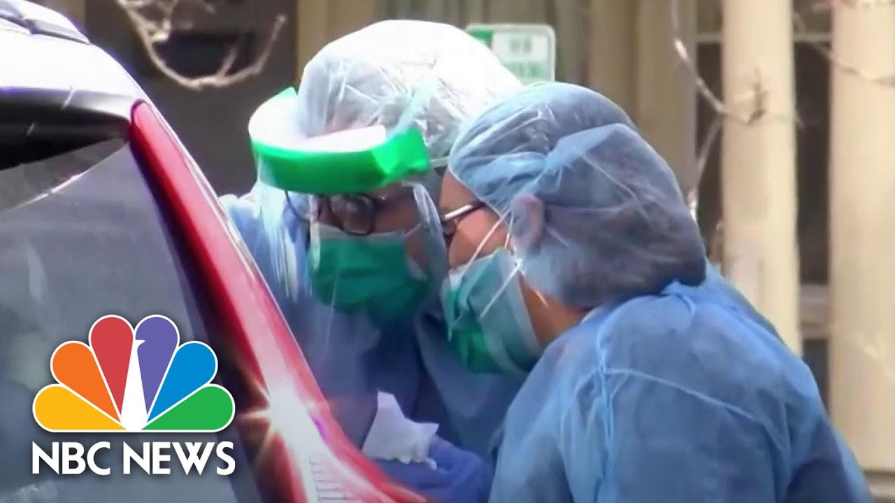 Mental Health Professionals Working Around The Clock Amid COVID-19 Outbreak | NBC News NOW thumbnail