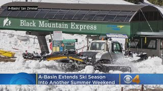 A-Basin Extends Ski Season Into Another Summer Weekend