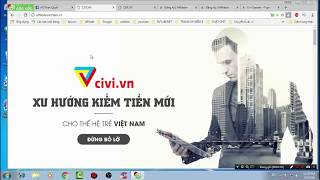 Affiliate Marketing kiếm tiền online với civi.vn | PHAN Văn Quấn