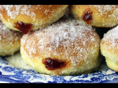 Pączki - Polish Jelly Donuts - Oven-Baked Doughnuts