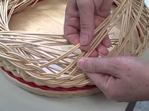Baskets: Weaving a Gretchen Rim