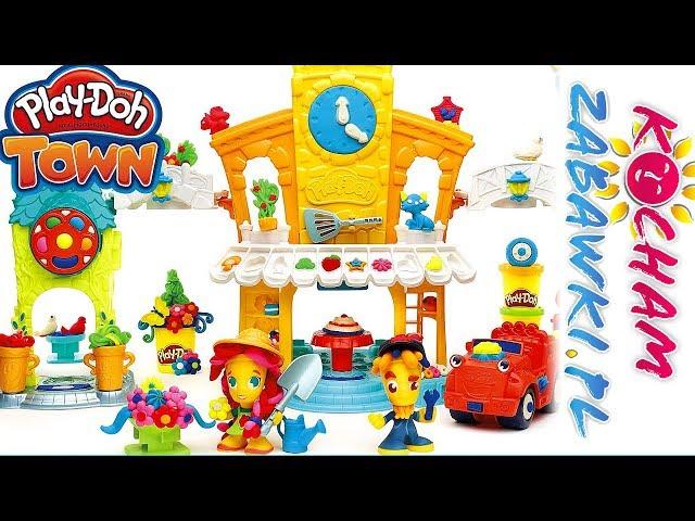 Play Doh Town • Mechanik samochodowy • Zepsute autko kwiaciarki • bajki po polsku