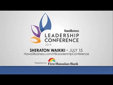 Hawaii Business Leadership Conference Announcement