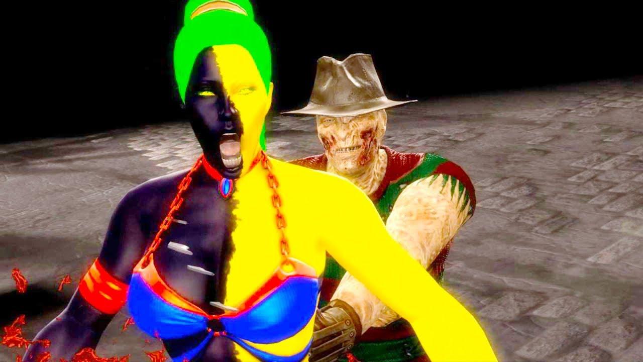 Mortal Kombat Komplete Edition 03 Quan Chi Vs Jade - YouTube
