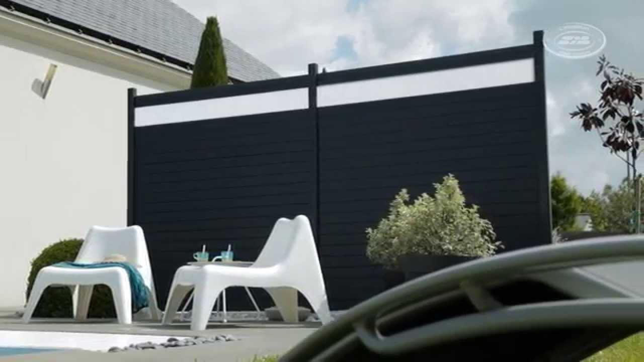 panneau brise vue bois gedimat. Black Bedroom Furniture Sets. Home Design Ideas