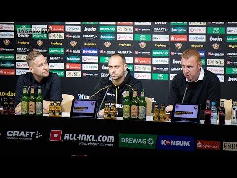10. Spieltag | SGD - AUE | Pressekonferenz vor dem Spiel