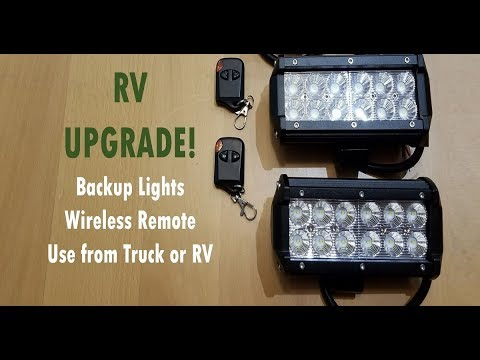 Adding LED Reverse/Backup Lights to an RV or Trailer - YouTube