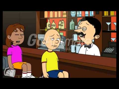Caillou & Dora get Drunk at a Bar/Grounded - YouTube