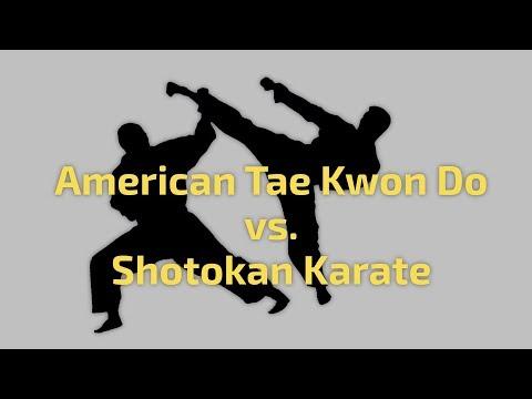 TKD vs Shotokan