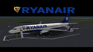 [ROBLOX] Ryanair Economy Class Flight | Ro-Aviation Flight Review | RyanairTM