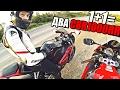 Вечерний ДРАЙВ на двух мотоциклах Honda CBR1000RR Fireblade
