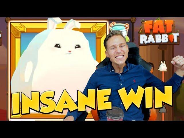 MEGA WIN?! *NEW SLOT* Fat Rabbit - Casino Slots - Free spins