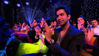 Barun Sobti & Sanaya Irani win Favorite TV On-Screen Jodi at the People's Choice Awards 2012 [HD]