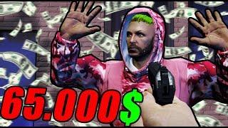 GTA 5 LIFE - LE METEMOS MULTA DE 65.000$ XDD - Nexxuz