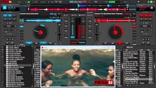 VIRTUAL DJ 8 MIX CLUB R B AND HIP HOP