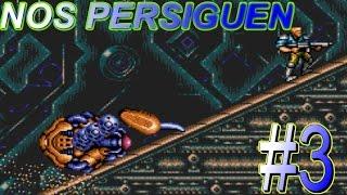 Contra Hard Corps / Es una TRAMPA😱!!! / Nivel 3 / Sega Génesis (RESUBIDO)