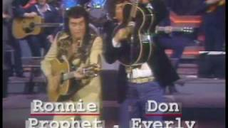 Ronnie Prophet & Don Everly BYE BYE LOVE live in 1980