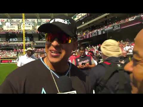 """Daddy Yankee: """"Desafortunadamente no se me dio en el béisbol por un accidente'"""""""