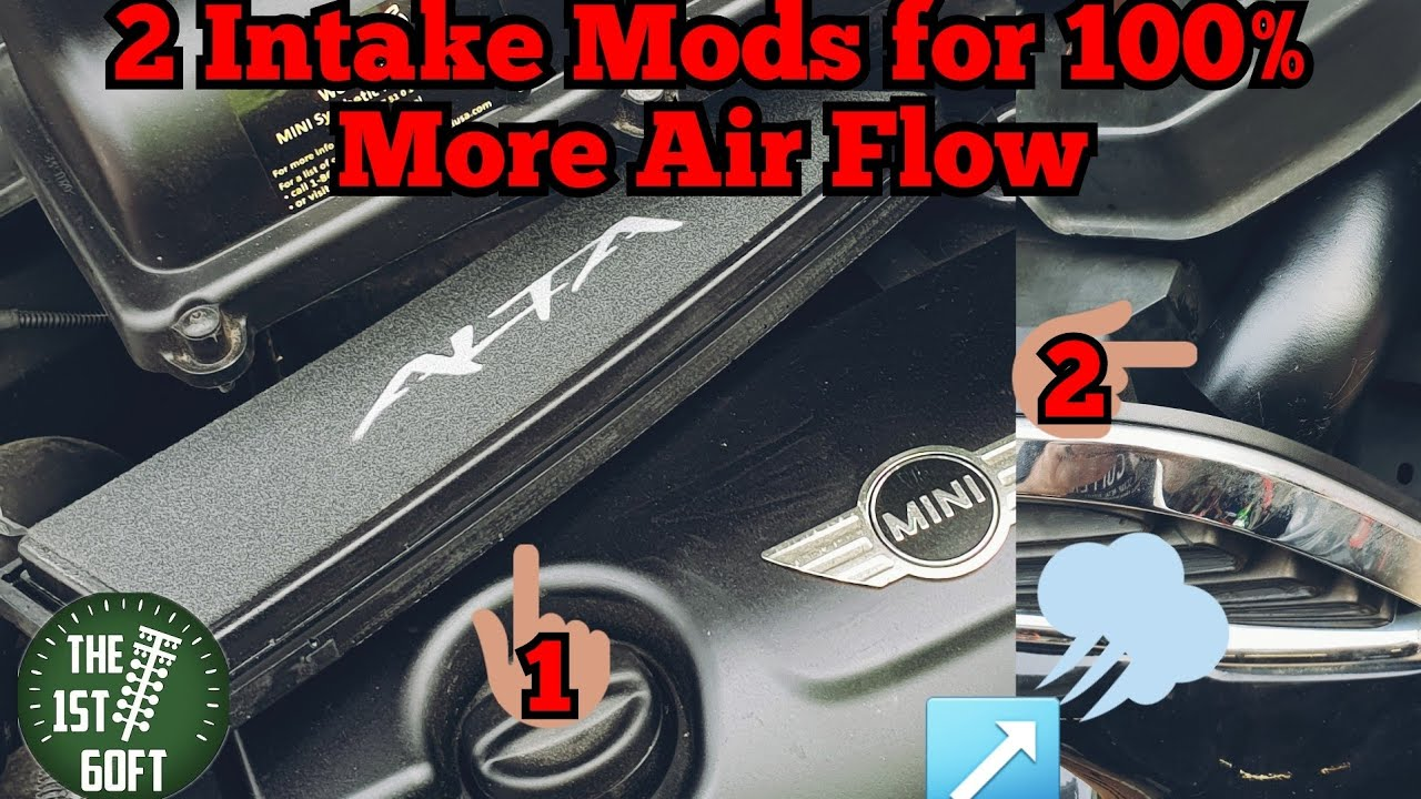 100% More Intake Air Flow for $79 - Mini Cooper S Budget Build