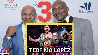 TEOFIMO LOPEZ GETS $3.2 MIL FOR KAMBOSOS FIGHT ON MIKE TYSON VS HOLYFIELD UNDERCARD