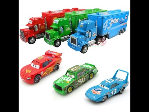 Disney pixar cars mack hauler camiones juguetes infantiles - Juguetes disney cars ...