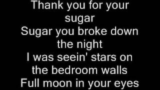 Midnight Rider - Save me some sugar Lyrics