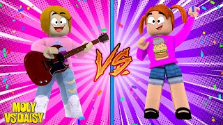 Chaises musicales Roblox - Baby Alive Molly Vs Daisy!