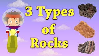 3 Types of Rocks | #aumsum #kids #education #science #learn