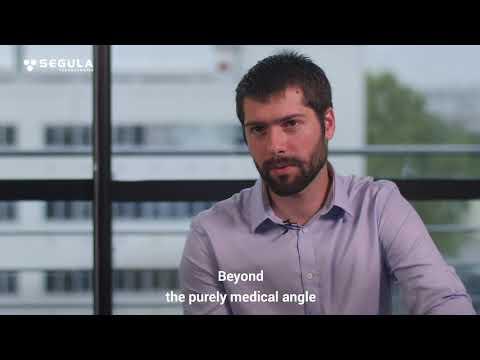 Thibaut, PhD student in biomedical simulation