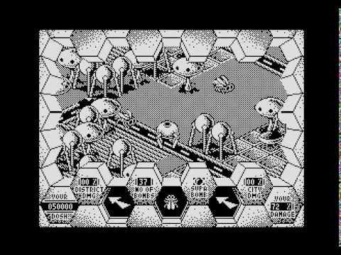 Amaurote - Atari XL/XE gameplay