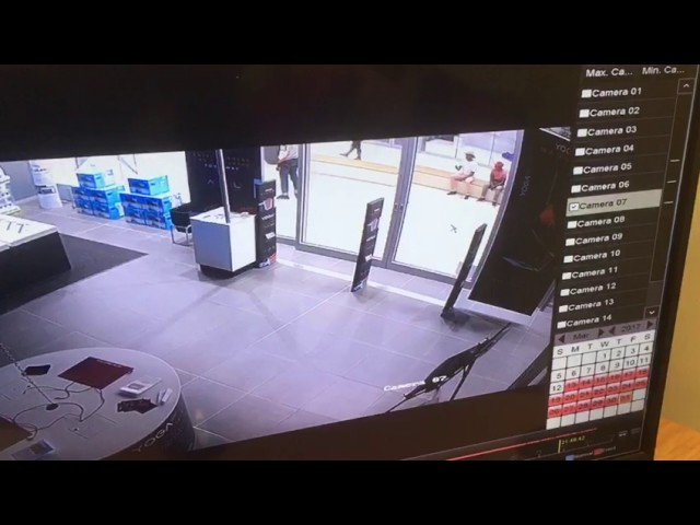 Armed robbery break in incredible connection