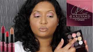 Aaliyah for Mac Collection Review + Swatches