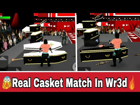 How to Play Real Casket Match In Wr3d/Wrestling Revolution
