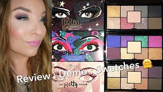 Ciate London The Fun, The Pretty, & The Fearless Eyeshadow Palettes : Review : Demo : Swatches